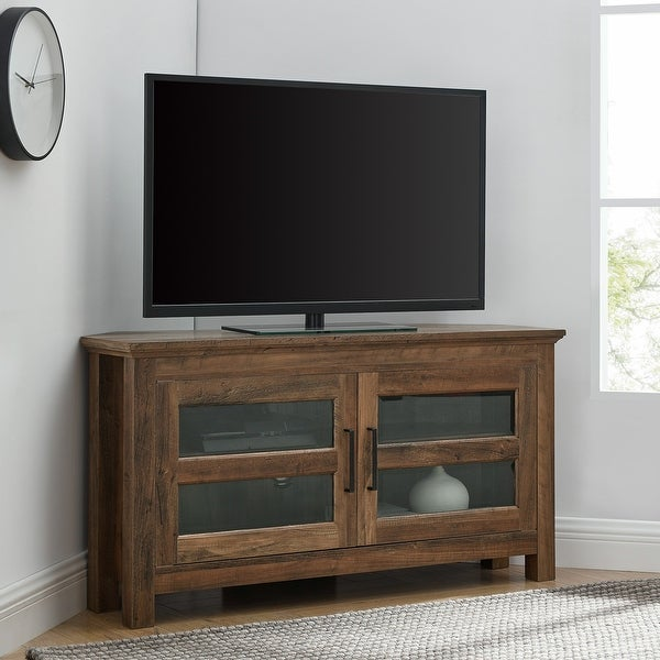 Copper Grove Bow Valley 44-inch Corner TV Stand. Opens flyout.