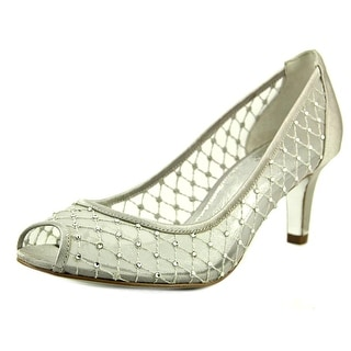 Adrianna Papell Daydream Women Open Toe Synthetic Silver Sandals