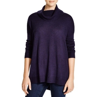 Eileen Fisher Womens Tunic Sweater Turtleneck Pullover