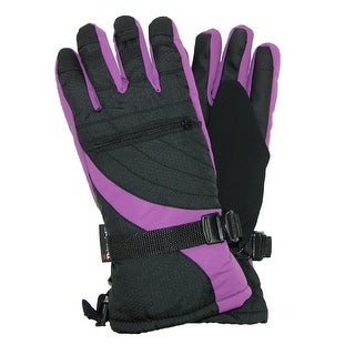 Grand Sierra Women's Bec-Tec Waterproof Glove with Zippered Pocket