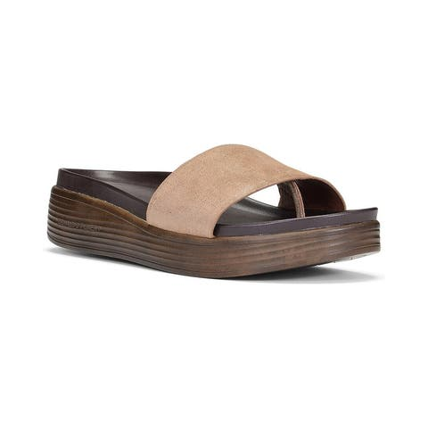Donald Pliner Fiji Leather Slide