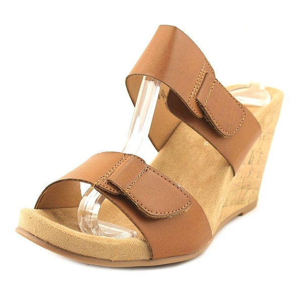 CL By Laundry Team Player Women Open Toe Synthetic Wedge Sandal