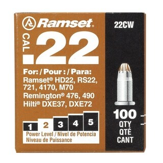 Ramset 00594 Powder Load Brown Medium Duty