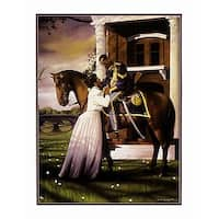 ''Farewell'' by Edward Clay Wright African American Art Print (28 x 22 in.)