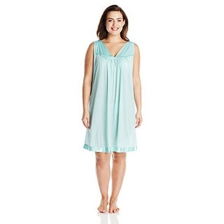 Vanity Fair Women's Plus Size Coloratura Sleepwear Short Gown 30807