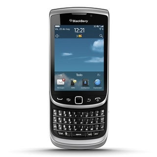 Blackberry Torch 9810 Unlocked GSM BlackBerry OS 7.0 Slider Cell Phone - Zinc Grey (Certified Refurbished)