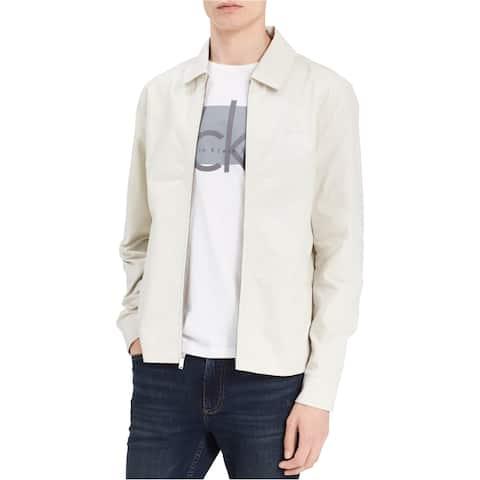 Calvin Klein Mens Harrington Jacket