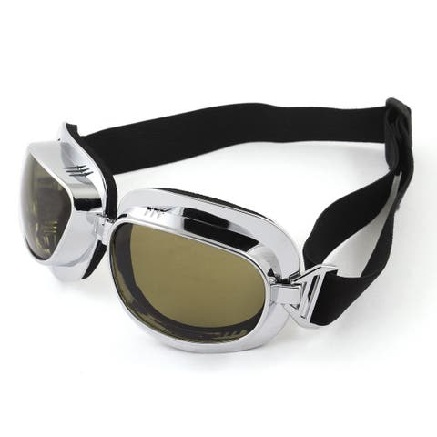 Unisex Black Lens Sponge Pad Frame Ski Snowboard Sports Goggles Safety Glasses