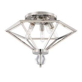 Savoy House 6-682-5 Tekoa 5 Light Flush Mount Ceiling Fixture