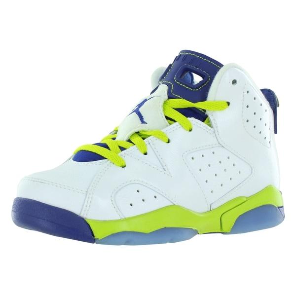 f5455cd6da7 Shop Jordan Retro 6 Basketball Preschool Girl's Shoes - Free ...