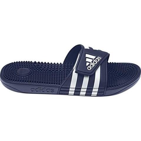 adidas adissage Dark Blue/White/Dark Blue