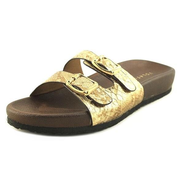 Volatile Luana Gold/Brown Sandals