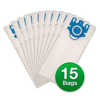 Replacement Type U Allergen Vacuum Bags For Miele Dynamic U1 Vacuums - 3 Pack