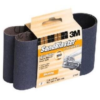 3M 9194NA Sanding Belt 3''x24'', 120 Grit, Fine