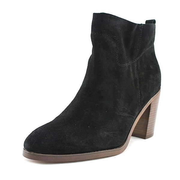 Latigo Jambalaya Women Pointed Toe Suede Black Ankle Boot
