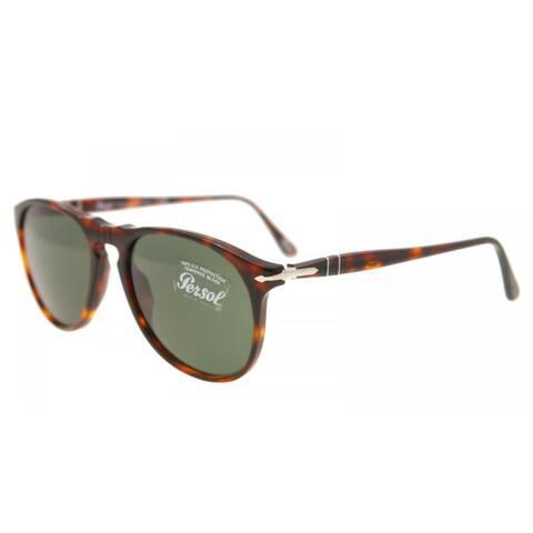 Persol PO 9649 24/31 52mm Unisex Havana Frame 0 Sunglasses