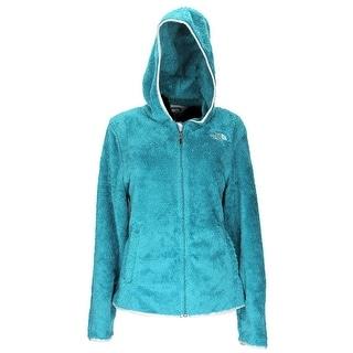 The North Face Women Veranda Full Zip Hoodie Basic Coat Mint Blue/Green