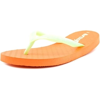 Reef Little Chakras Youth Open Toe Synthetic Green Flip Flop Sandal