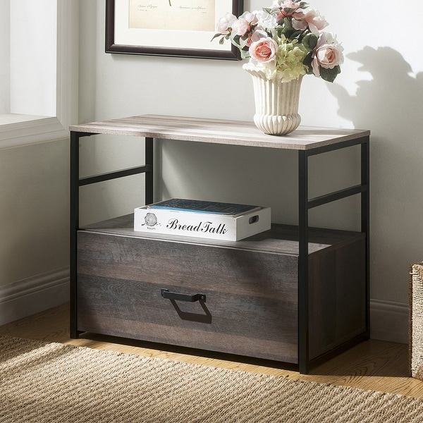 Shop Merax Home Office Surface Antique Standing Style