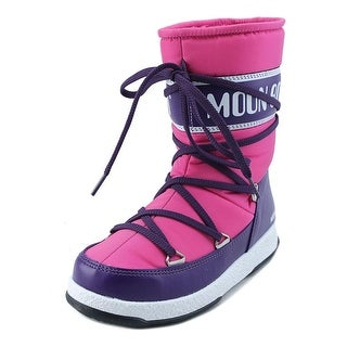 Tecnica Moon Boot W.E. Sport Mid Jr Round Toe Synthetic Winter Boot