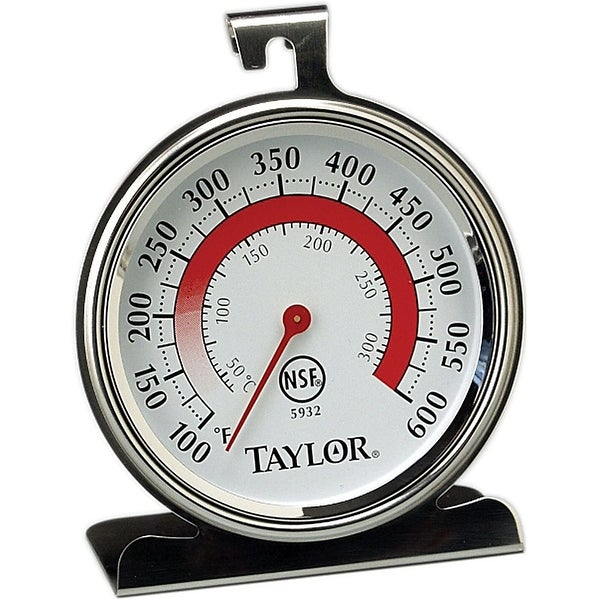 """Taylor 5932 Oven Thermometer, 2-1/2"""" x 2-3/4"""""""