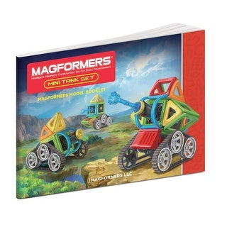 Magformers Mini Tank 27-Piece Building Set - Multi