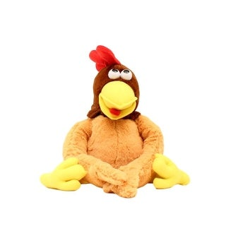 "M&F Western Toy Giggle Mates Kids Laughing Chicken 10"" Brown 50900"