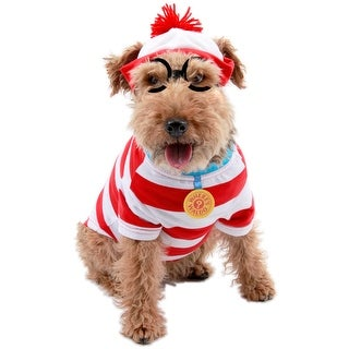 Elope Where's Waldo Woof Pet Costume (M)