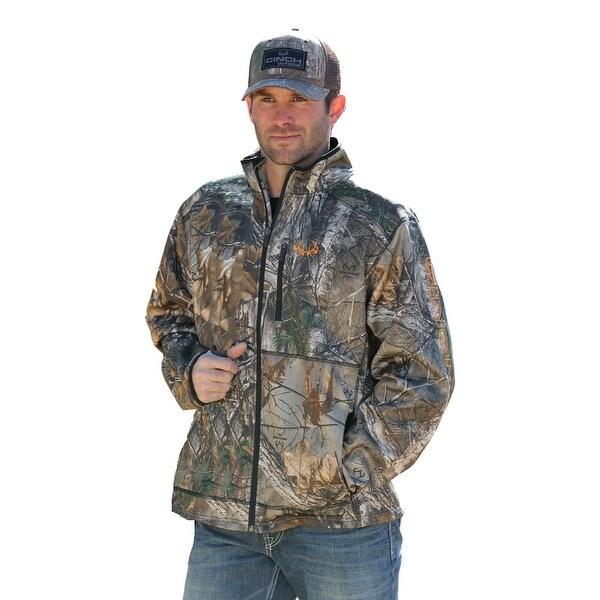 Shop Cinch Western Jacket Mens Outdoor Bonded Fleece Camo