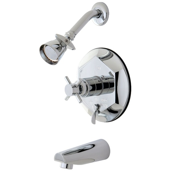 Kingston Brass KB463.0DX Concord Tub and Shower Trim Package with 1.8 GPM Single Function Shower Head