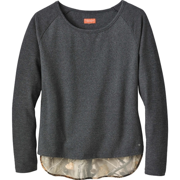 Legendary Whitetails Ladies Hide-n-Seek Raglan Long Sleeve Pullover