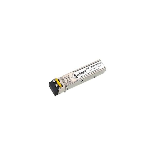 ENET 0061003024-ENC Adva 0061003024 Compatible 1000BASE-CWDM SFP 1550nm 80km DOM Duplex LC SMF 100% Tested Lifetime Warranty and