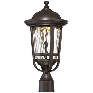 "Designers Fountain LED34436-ABP Westbrooke 1 Light 11"" Tall LED Outdoor Post Light"