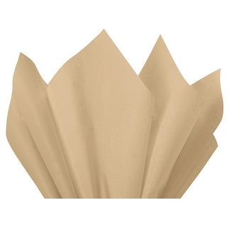"""Pack Of 240, Solid Parchment Tissue Paper 20 X 26"""" Sheet Half Ream Made From 100% Post Industrial Recycled Fibers Made In Usa"""