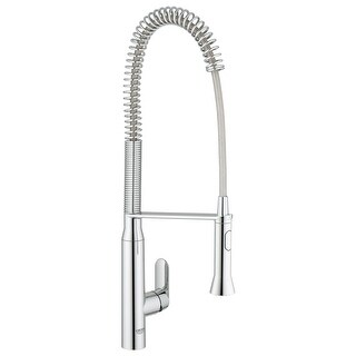 Grohe 32 951 K7 Pre-Rinse Kitchen Faucet with 2-Function Toggle Sprayer - N/A