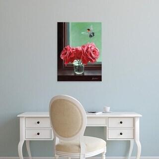 Easy Art Prints Fred Szatkowski's 'Window Shopping' Premium Canvas Art