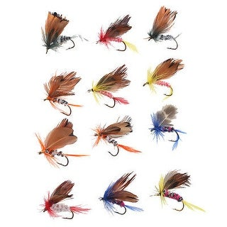 AGPtek 48pcs Trout Fishing Lures Spinnerbait for Fly Fishing