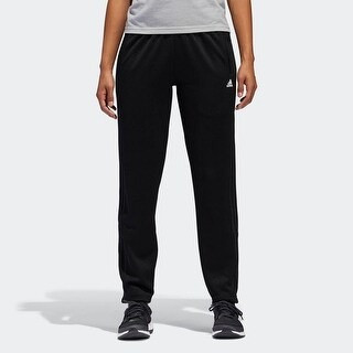 Adidas Women's Originals Tricot Snap Pants Black With Logo, Size Small - S