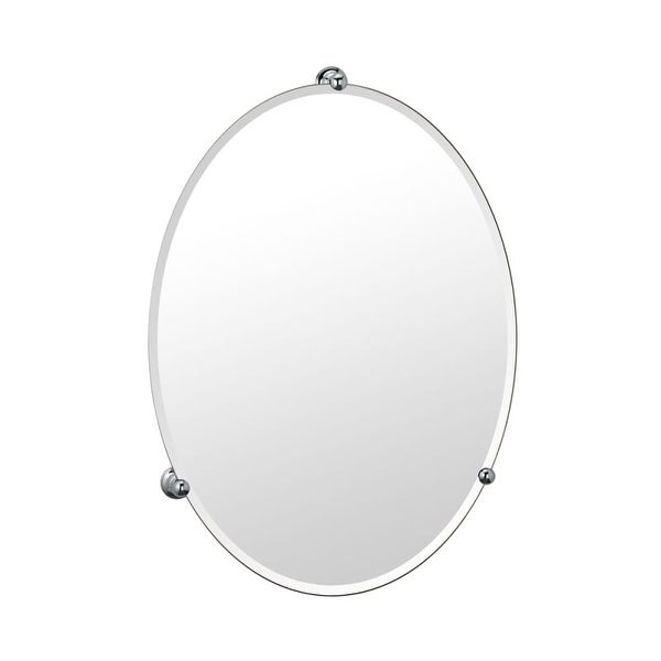 Gatco GC1565 Large Oval Mirror from the Oldenburg Series - N/A
