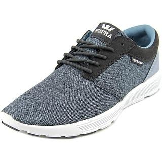 Supra Hammer Run Men Round Toe Canvas Gray Sneakers