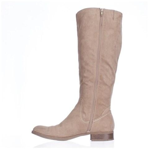 Indigo Rd. Womens CHUCKIE Fabric Closed Toe Mid-Calf Riding Boots