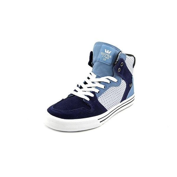 Supra Vaider Men Round Toe Suede Skate Shoe
