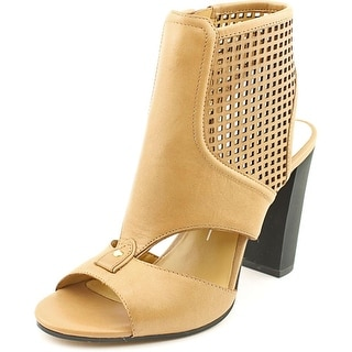 Dolce Vita Nona Women  Open Toe Leather Tan Sandals
