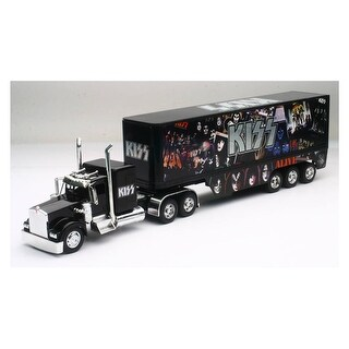 New-Ray SS-12453 Kenworth KISS Rock Band Truck