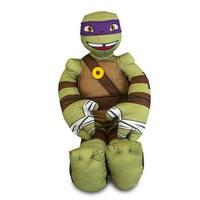 Teenage Mutant Ninja Turtles Donatello Plush Cuddle Pillow - Green/brown - 5.0 in. x 12.0 in. x 23.0 in.