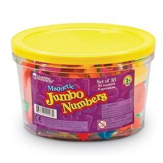 (3 Ea) Jumbo Magnetic Numbers 36 Per Pk Operations 2-1/2 Bucket