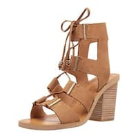 Dolce Vita Womens Witley Gladiator Sandals Block Heel Strappy