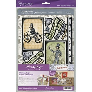 Hunkydory Charming Chaps Luxury A4 Card Collection-