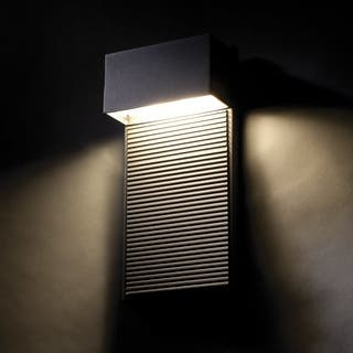 Modern forms outdoor lighting for less overstock modern forms ws w2308 hiline 8 indoor outdoor dimmable led ada compliant wall workwithnaturefo