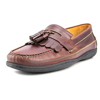 Johnston & Murphy Fowler   Moc Toe Leather  Loafer